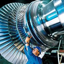 Gap Measurement between a rotor and seal in a steam turbine