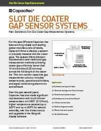 Slot Die Coater Brochure